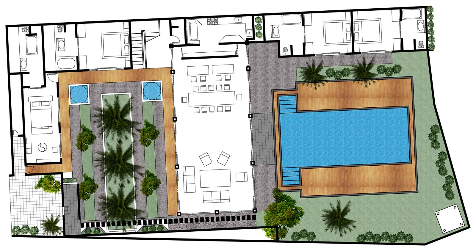 Villa Kharisma Floor Plan First Floor