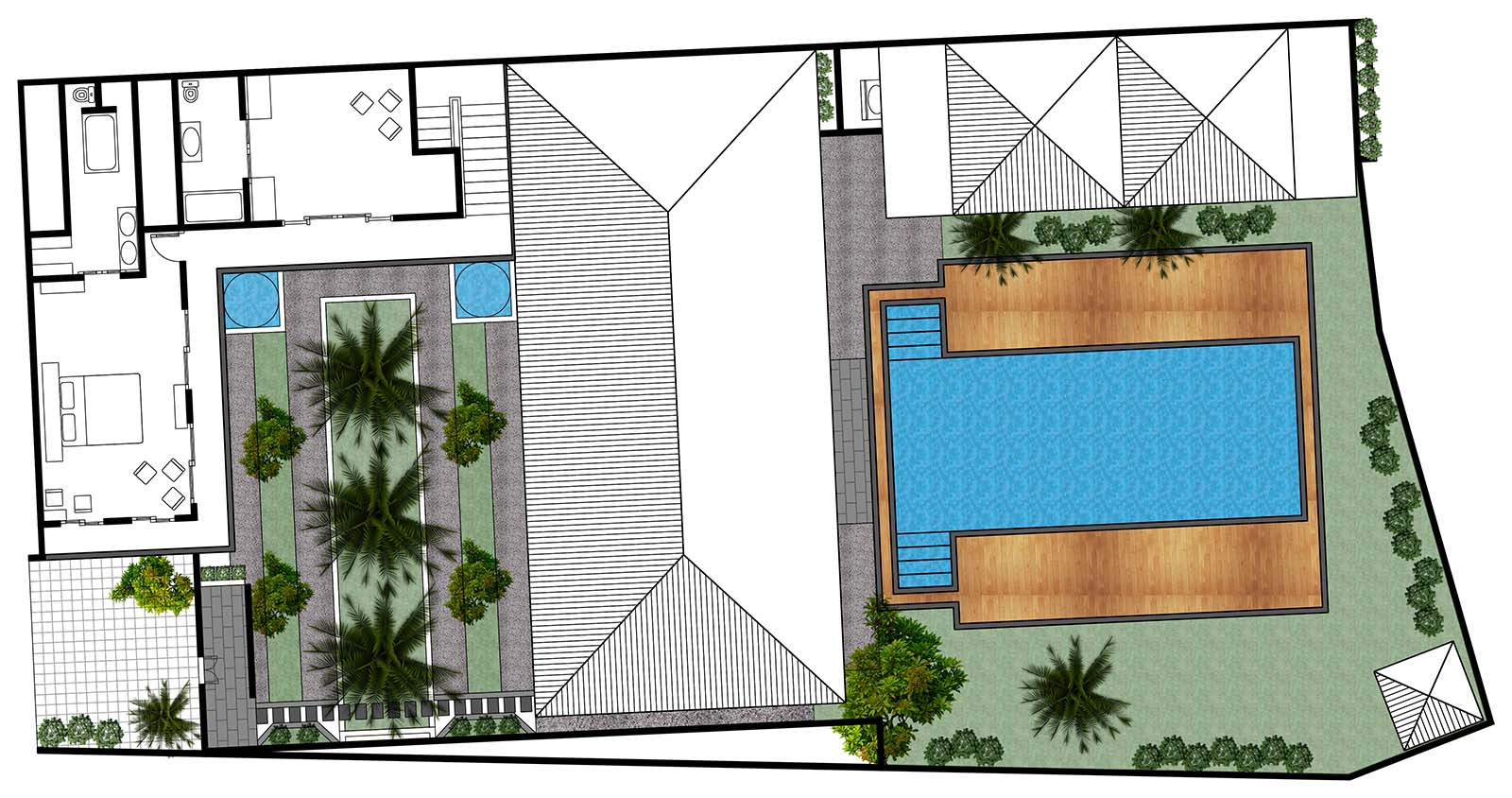 Villa Kharisma Floor Plan Second Floor